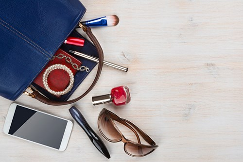 Insure your personal possessions away from the home like your handbag